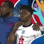 Black History Month: Chris Powell, Bukayo Saka and the black England role models inspiring a generation